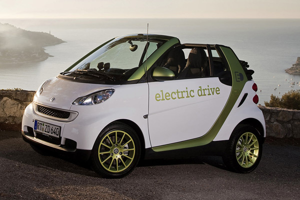 smart electric fortwo cabriolet