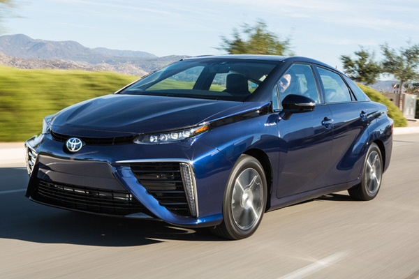 Toyota Mirai Fuel Cell Vehicle 2016 2019