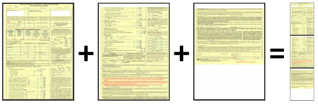how do i scan my long purchase lease agreement clean vehicle